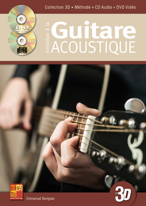 Initiation à la guitare acoustique en 3D