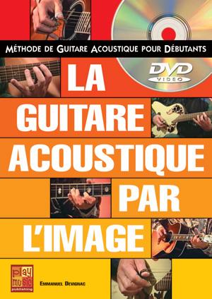 La guitare acoustique par l'image