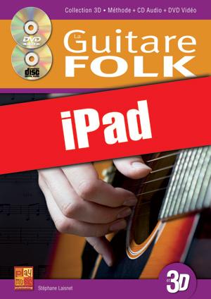 La guitare folk en 3D (iPad)