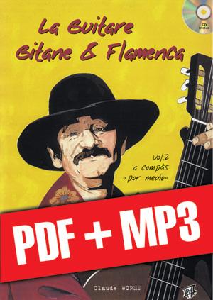 La guitare gitane & flamenca - Volume 2 (pdf + mp3)