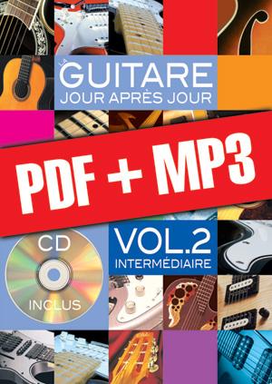 La guitare jour après jour - Volume 2 (pdf + mp3)