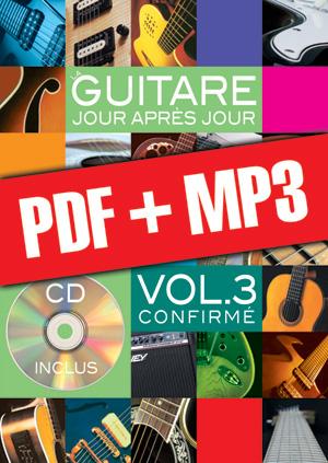 La guitare jour après jour - Volume 3 (pdf + mp3)