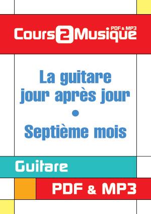 La guitare, jour après jour - Septième mois