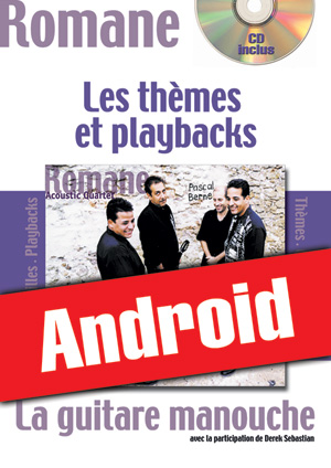 La guitare manouche - Thèmes & Playbacks (Android)