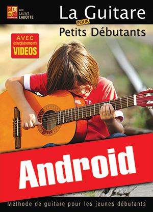 La guitare pour petits débutants (Android)