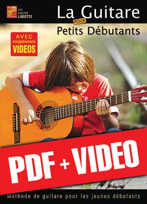 La guitare pour petits débutants (pdf + vidéos)