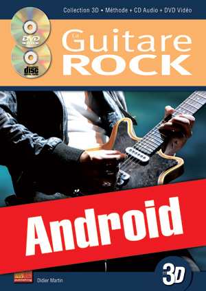 La guitare rock en 3D (Android)
