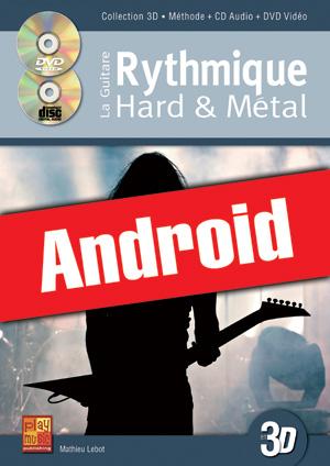 La guitare rythmique hard & métal en 3D (Android)