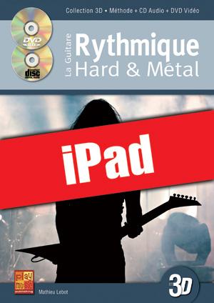 La guitare rythmique hard & métal en 3D (iPad)