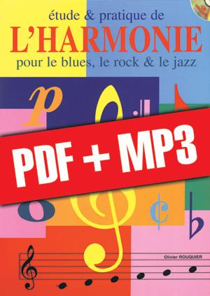 Etude & pratique de l'harmonie - Guitare (pdf + mp3)