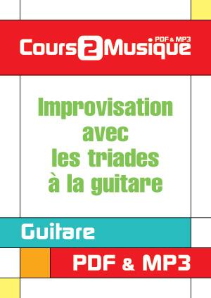 Improvisation avec les triades à la guitare