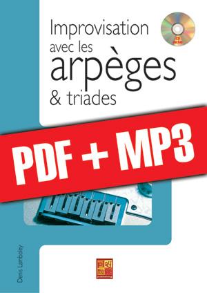 Improvisation avec les arpèges et triades (pdf + mp3)