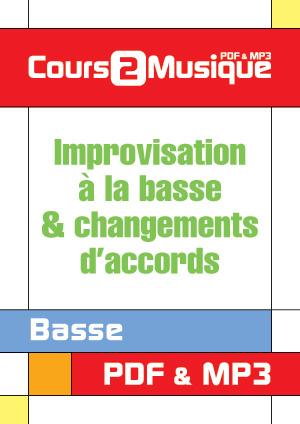 Improvisation à la basse & changements d'accords