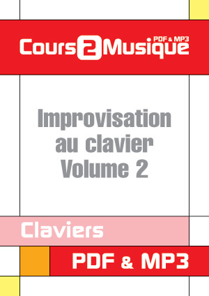 Improvisation au clavier - Volume 2