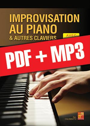 Improvisation au piano et autres claviers (pdf + mp3)