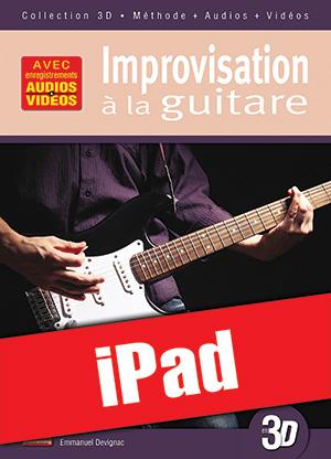 Improvisation à la guitare en 3D (iPad)