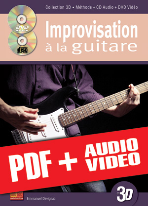 Improvisation à la guitare en 3D (pdf + mp3 + vidéos)