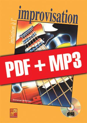 Initiation à l'improvisation à la guitare (pdf + mp3)