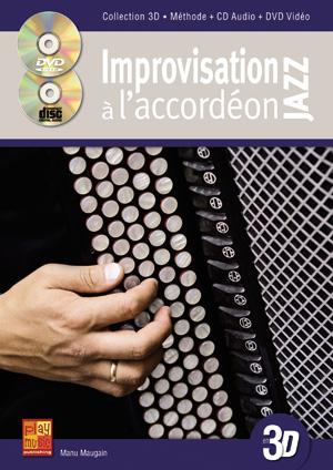 Improvisation jazz à l'accordéon en 3D