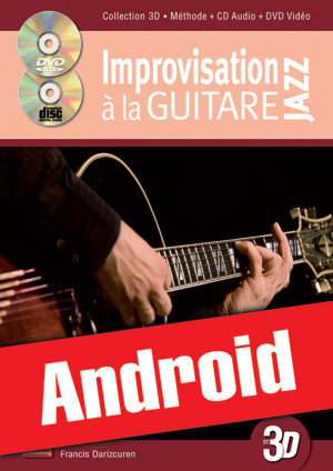 Improvisation jazz à la guitare en 3D (Android)