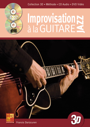 Improvisation jazz à la guitare en 3D
