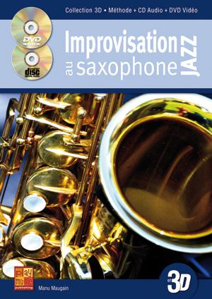 Improvisation jazz au saxophone en 3D