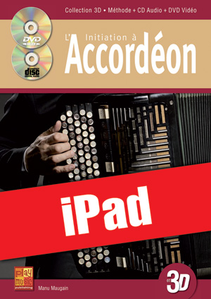 Initiation à l'accordéon en 3D (iPad)