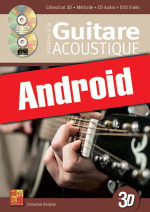 Initiation à la guitare acoustique en 3D (Android)