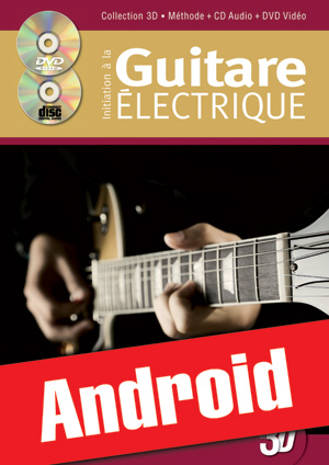 Initiation à la guitare électrique en 3D (Android)