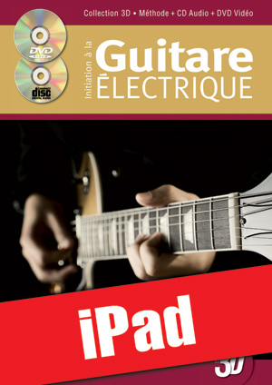 Initiation à la guitare électrique en 3D (iPad)