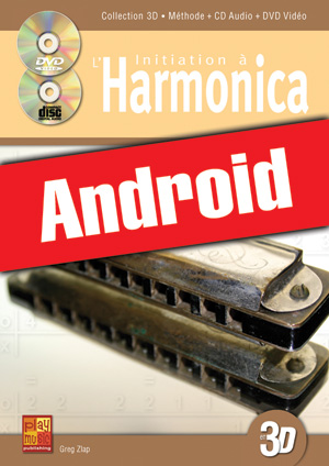 Initiation à l'harmonica en 3D (Android)