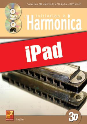 Initiation à l'harmonica en 3D (iPad)