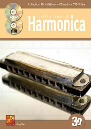 Initiation à l'harmonica en 3D