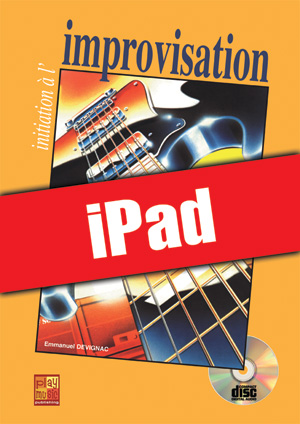 Initiation à l'improvisation à la guitare (iPad)