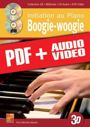 Initiation au piano boogie-woogie en 3D (pdf + mp3 + vidéos)