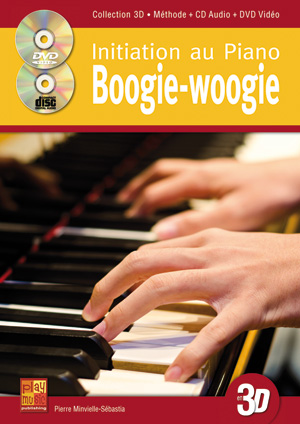 Initiation au piano boogie-woogie en 3D