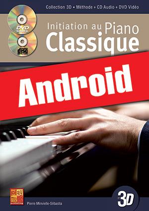 Initiation au piano classique en 3D (Android)