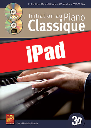 Initiation au piano classique en 3D (iPad)