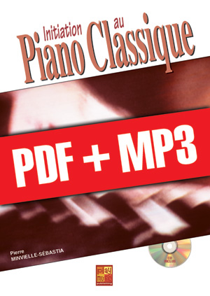 Initiation au piano classique (pdf + mp3)