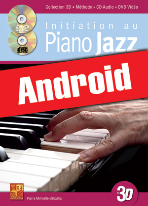 Initiation au piano jazz en 3D (Android)