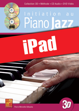 Initiation au piano jazz en 3D (iPad)