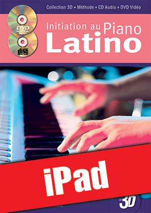 Initiation au piano latino en 3D (iPad)