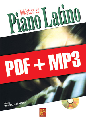 Initiation au piano latino (pdf + mp3)