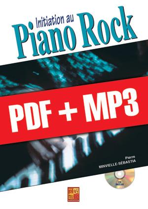 Initiation au piano rock (pdf + mp3)