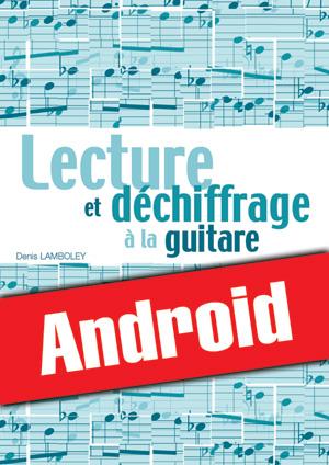 Lecture et déchiffrage à la guitare (Android)