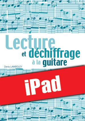 Lecture et déchiffrage à la guitare (iPad)