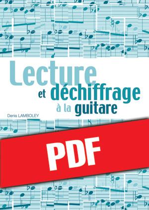 Lecture et déchiffrage à la guitare (pdf)