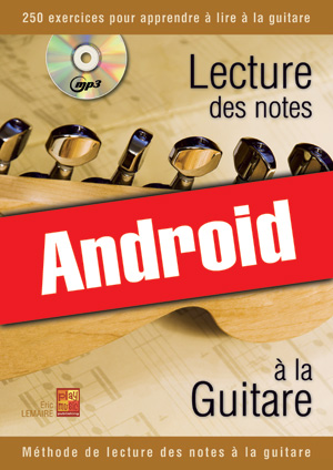 Lecture des notes à la guitare (Android)