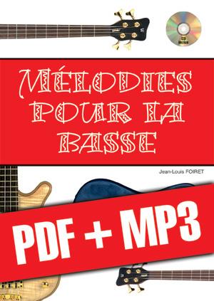 Mélodies pour la basse (pdf + mp3)