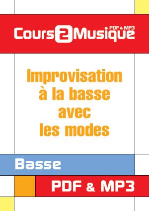 Improvisation à la basse avec les modes